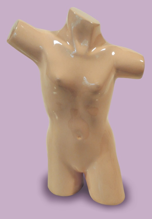 Morsel Torso sculpture by Thomas Haney of female torso